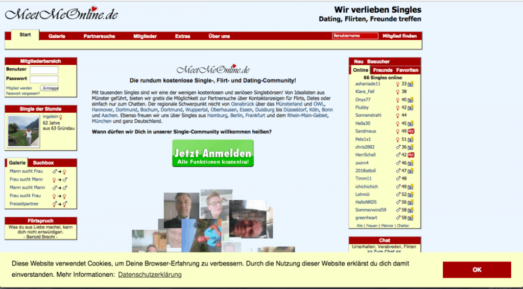 Kostenloser Single Chat in Mnster | Gratis online mit Singles