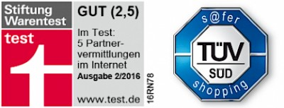 ElitePartner Testsiegel